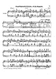 Пьеса для фортепиано, Op.5: Пьеса для фортепиано by Чарльз Гласс