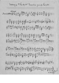 Большая соната для гитары, Op.25 No.2: Часть IV by Фернандо Сор