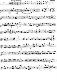 Три легких дуэта для двух гитар, Op.61: Дуэт No.2 by Фернандо Сор