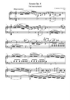 Соната для фортепиано ми-бемоль мажор, Op.4: Часть I by Даниэль Штайбельт