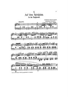 Шесть поэтических эскизов, Op.28: Шесть поэтических эскизов by Константин Стернберг