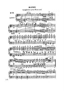 Симфония No.102 си-бемоль мажор, Hob.I/102: Версия для фортепиано by Йозеф Гайдн