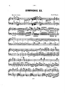 Симфония No.53 ре мажор 'L'Impériale', Hob.I/53: Версия для фортепиано by Йозеф Гайдн