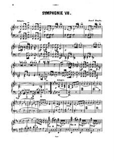 Симфония No.104 ре мажор 'Лондонская', Hob.I/104: Версия для фортепиано by Йозеф Гайдн