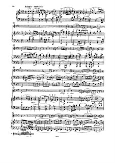 Соната для скрипки и фортепиано No.7, Op.30 No.2: Часть II by Людвиг ван Бетховен