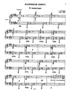 Маленькая сюита: Для фортепиано by Александр Бородин