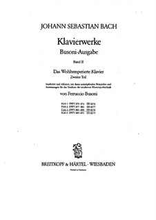 Избранные пьесы: Для фортепиано, BWV 883-888 by Иоганн Себастьян Бах