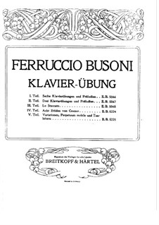 Lo Staccato: Для одного исполнителя (Первое издание) by Ферруччо Бузони