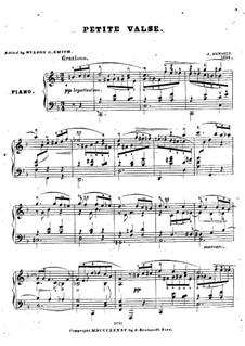 Маленький вальс: Маленький вальс by Адольф фон Хенсельт