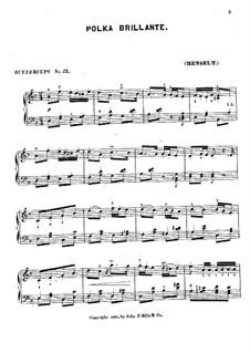 Полька ре минор: Полька ре минор by Адольф фон Хенсельт