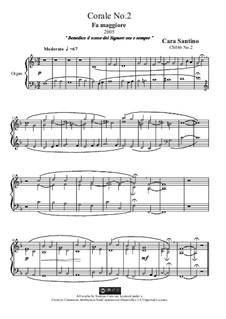 Choral in f major for organ, CS086 No.2: Choral in f major for organ by Santino Cara