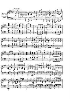 Песни без слов, Op.85: No.5 Аллегретто by Феликс Мендельсон-Бартольди