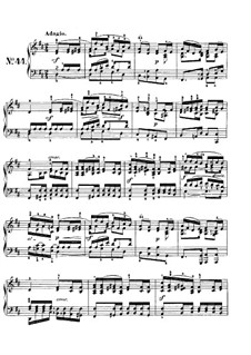 Песни без слов, Op.102: No.2 Adagio by Феликс Мендельсон-Бартольди