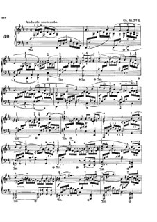 Песни без слов, Op.85: No.4 Andante sostenuto by Феликс Мендельсон-Бартольди