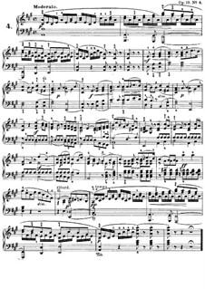 Песни без слов, Op.19b: No.4 Модерато by Феликс Мендельсон-Бартольди