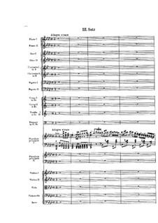 Концерт для двух фортепиано с оркестром ля-бемоль мажор: Часть III by Феликс Мендельсон-Бартольди