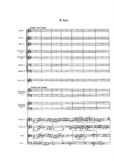 Концерт для двух фортепиано с оркестром ми мажор: Часть II by Феликс Мендельсон-Бартольди