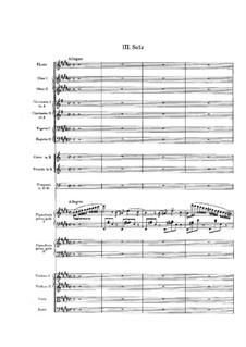 Концерт для двух фортепиано с оркестром ми мажор: Часть III by Феликс Мендельсон-Бартольди