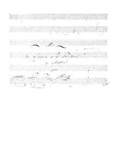 Пуритане: Ария, для гитары by Винченцо Беллини