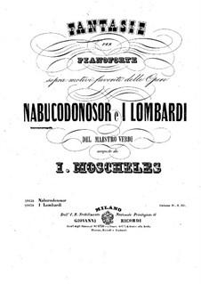 Фантазия на темы из оперы Верди 'Навуходоносор': Для фортепиано by Игнац Мошелес