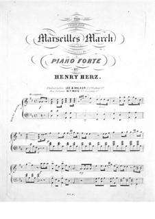 Marseilles March: Marseilles March by Роже де Лиль