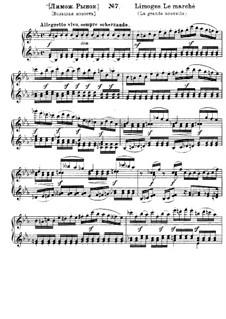 No.7 Лимож. Рынок: Для фортепиано by Модест Мусоргский