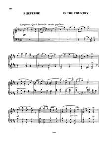 В деревне: Для фортепиано by Модест Мусоргский