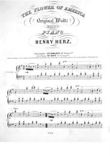 Flower of America: Для фортепиано by Анри Герц