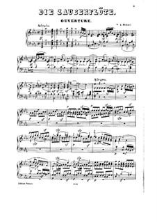 Фрагменты: Акт I No.1-5, для голосов и фортепиано by Вольфганг Амадей Моцарт
