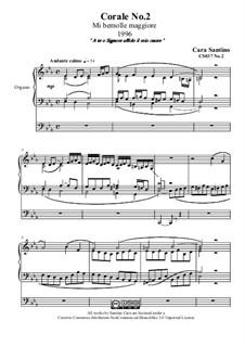 Choral in e flat major for organ, CS037 No.2: Choral in e flat major for organ by Santino Cara