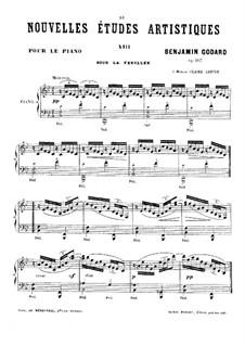 Новые артистические этюды, Op.107: No.1 by Бенжамин Годар