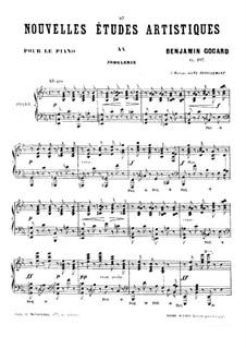 Новые артистические этюды, Op.107: No.3 by Бенжамин Годар