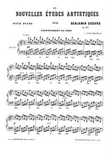 Новые артистические этюды, Op.107: No.5 by Бенжамин Годар
