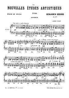 Новые артистические этюды, Op.107: No.6 by Бенжамин Годар