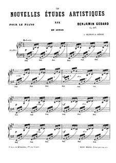 Новые артистические этюды, Op.107: No.7 by Бенжамин Годар