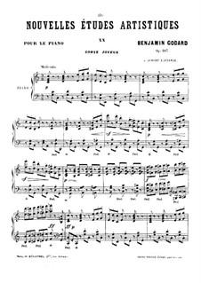 Новые артистические этюды, Op.107: No.8 by Бенжамин Годар