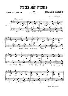 Études artistiques, Op.42: No.9 Экспромт by Бенжамин Годар