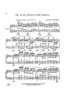 Яванская сюита: No.9 In the Streets of Old Batavia by Леопольд Годовский