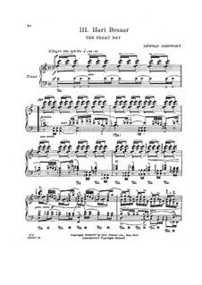 Яванская сюита: No.3 Hari Besaar by Леопольд Годовский