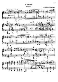 Маски вальса: No.2 Pastell by Леопольд Годовский