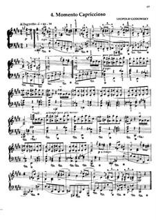 Маски вальса: No.4 Momento Capriccioso by Леопольд Годовский