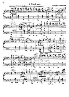 Маски вальса: No.6 Контрасты by Леопольд Годовский