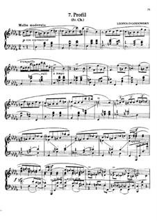 Маски вальса: No.7 Профиль by Леопольд Годовский
