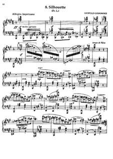 Маски вальса: No.8 Силуэт by Леопольд Годовский