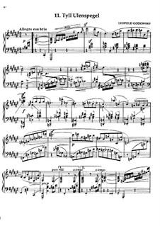Маски вальса: No.11 Тиль Уленшпигель by Леопольд Годовский