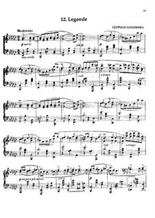 Маски вальса: No.12 Легенда by Леопольд Годовский