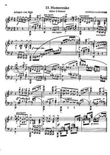 Маски вальса: No.13 Юмореска by Леопольд Годовский