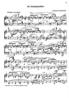Маски вальса: No.18 Schuhplattler by Леопольд Годовский