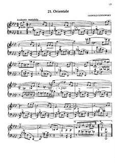 Маски вальса: No.21 Orientale by Леопольд Годовский