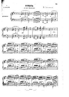 Соната для фортепиано соль мажор, Op.54: Сборник by Стефано Голинелли